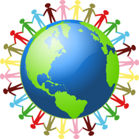 Coloured-people-holding-hands-around-a-globe